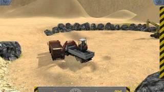 PC game Construction-Simulator 2012 - mini excavator and dump truck