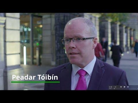 Peadar Tóibín TD speaking after his courageous vote against abortion