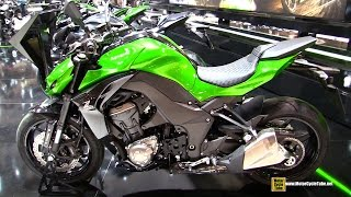2015 Kawasaki Z1000 - Walkaround - 2014 EICMA Milan Motorcycle Exhibition