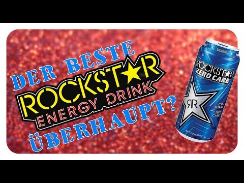 LET'S DRINK: ROCKSTAR ZERO CARB