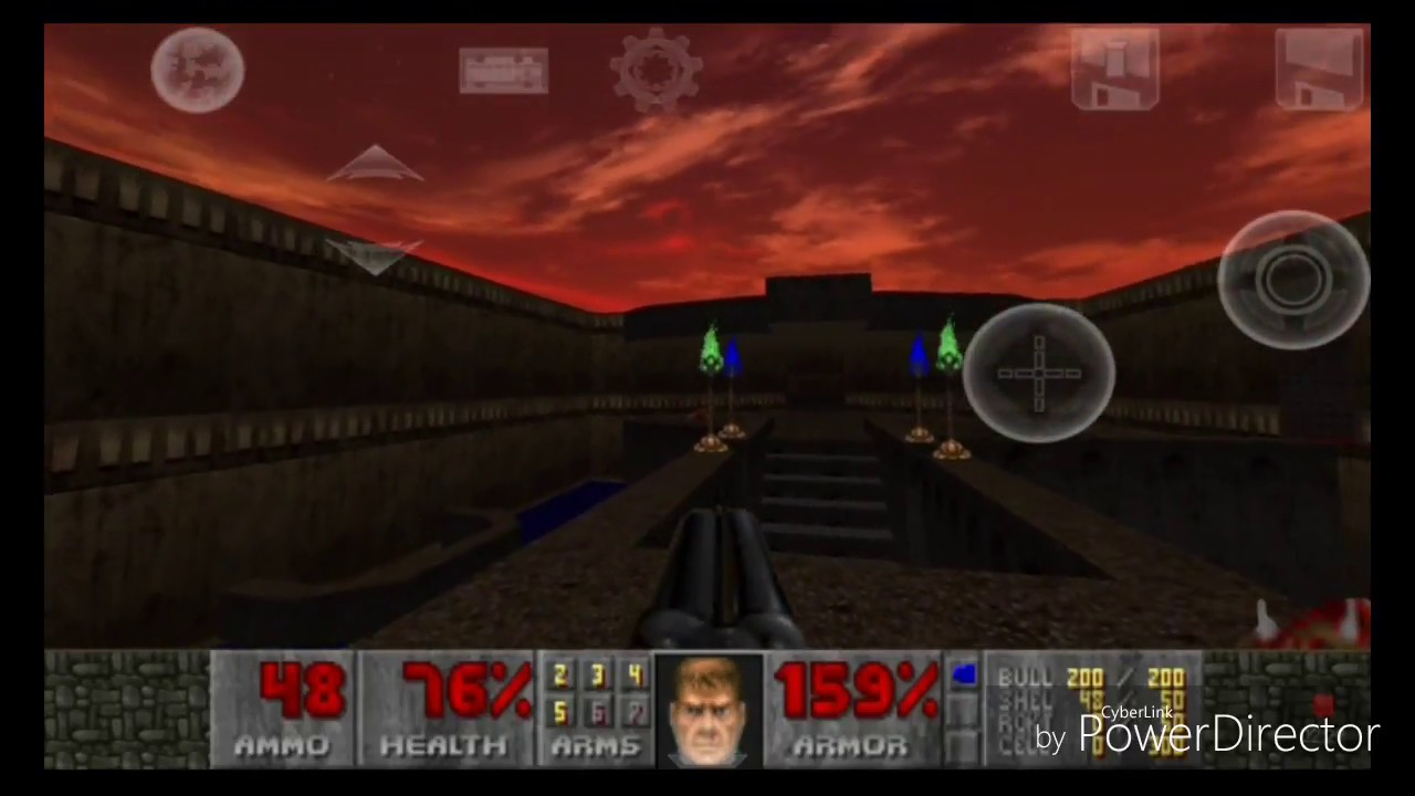 D-Touch, Doom, HD textures, gzdoom apk para android  by Quake Draiv