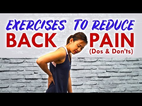 Exercises for Back Pain (Dos & Don'ts) | Joanna Soh