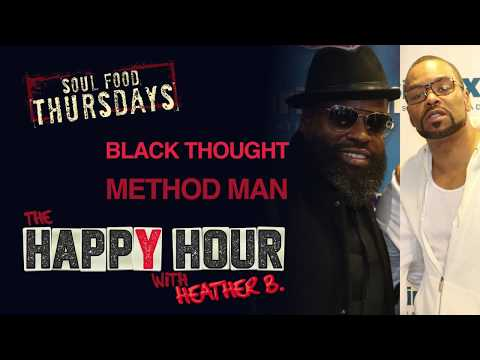 Black Thought and Method Man with HeatherB.