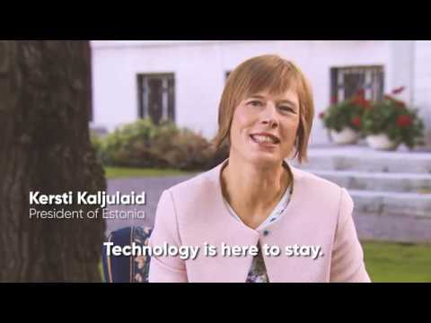 Tallinn Digital Summit invitation by president of Estonia Kersti Kaljulaid