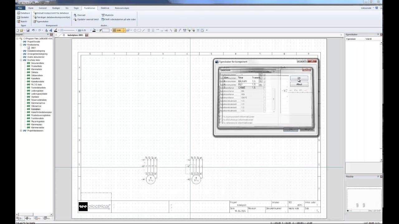 Groß Software Für Elektrische Kabelpläne Galerie - Schaltplan Serie ...