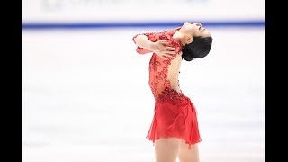 Mao Asada (Japan) skates to 'Bacalov Tangosain' and 'Libertango' by...