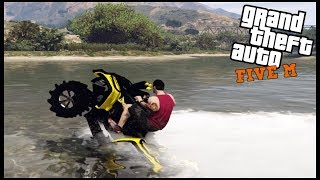 GTA 5 ROLEPLAY - SINKING CANAM OUTLANDER IN THE SWAMP - EP. 689 - CIV
