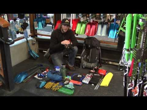 Backcountry Skiing with JANS.com: What To Pack In Your Backcountry Pack