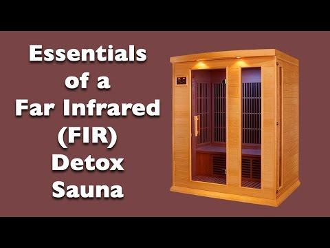 Essentials of a Far Infrared (FIR) Detox Sauna | Dr. Robert Cassar