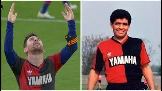 Lionel Messi and Barcelona fined for tribute to Maradona   Football News   TUS