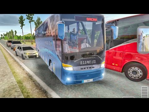 Bus Simulator Ultimate : Crazy Bus Driver Gameplay Ep2 | Driving Simulator Games | Bus Games 2020