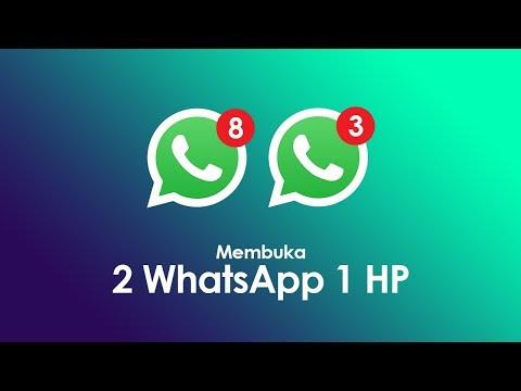 Cara Membuka 2 Akun WhatsApp Dalam 1 Hp - WhatsApp Clone NO ROOT