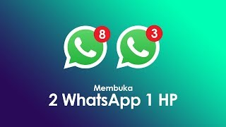 Cara Membuka 2 akun WhatsApp dalam 1 hp WhatsApp Clone NO ROOT