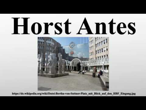 Horst Antes