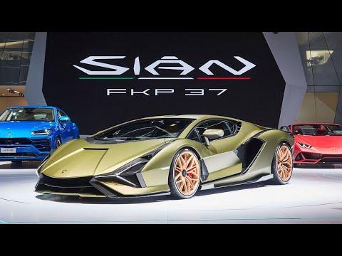 2020 Lamborghini Sian (The Hybrid Hypercar) - Launching Video