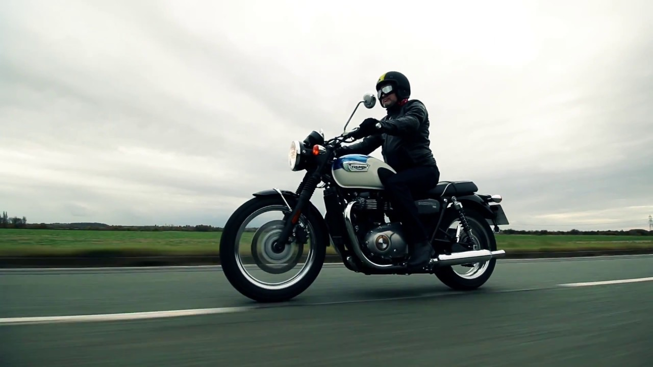 Triumph Bonneville T100 2017 Road Test And Review Youtube