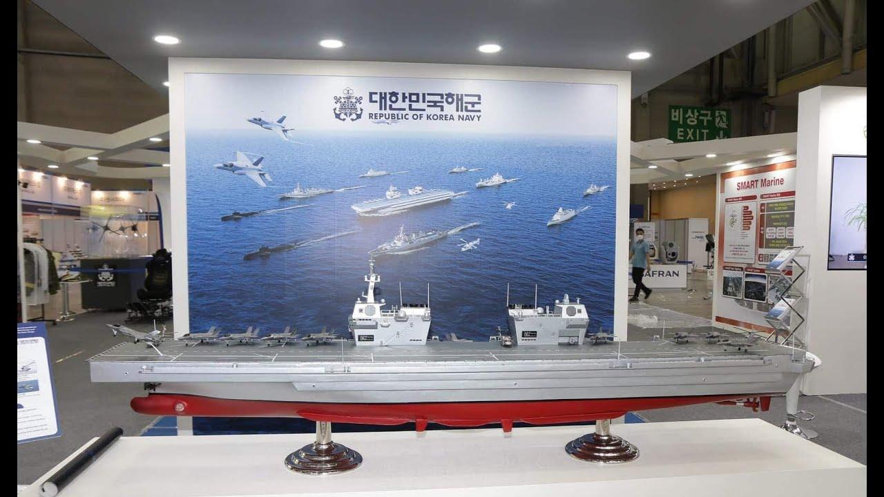 Fincantieri support DSME to Conceptual Design New Class of Aircraft Carriers CVX for South Korea