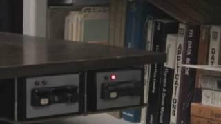 Exatron Stringy Floppy Demo TRS 80 Model 1