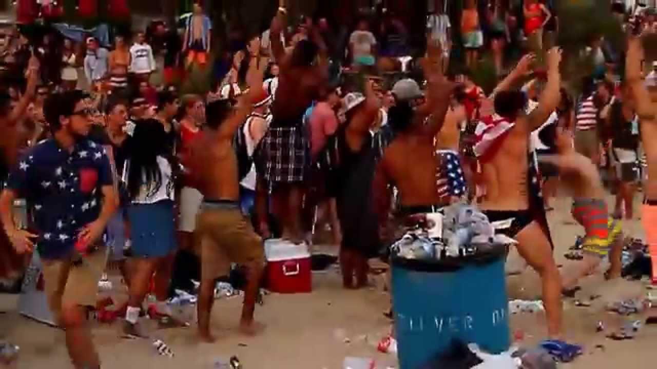 beach party Drunk