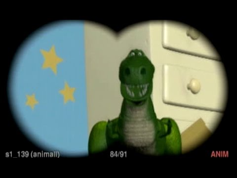 Rex as godzilla toy story youtube - Dinosaure toy story ...