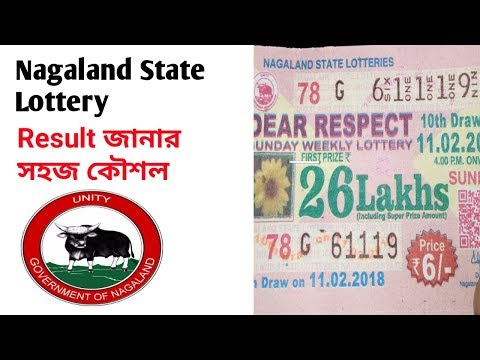 Nagaland State Lottery Result জানার সহজ কৌশল