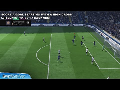 FIFA 18 - Lofty Finish Trophy / Achievement Guide (Score From a High Cross)