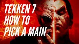 Picking a Main: Tekken 7 Concepts