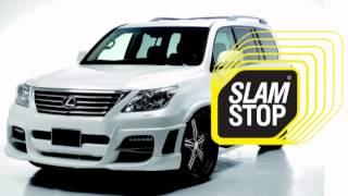 Доводчик двери на Lexus LX 570 Supercharger Дотяжка автомобильных дверей SlamStop