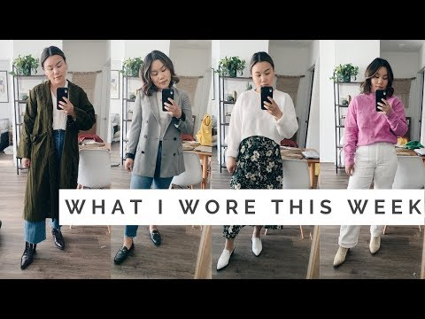 "WHAT I WORE THIS WEEK || Casual ""Professional"" Workwear thumbnail"
