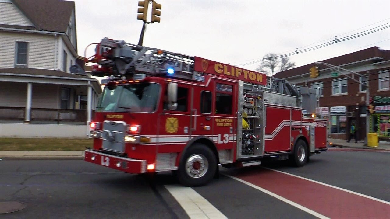 clifton fire department nj ladder ave
