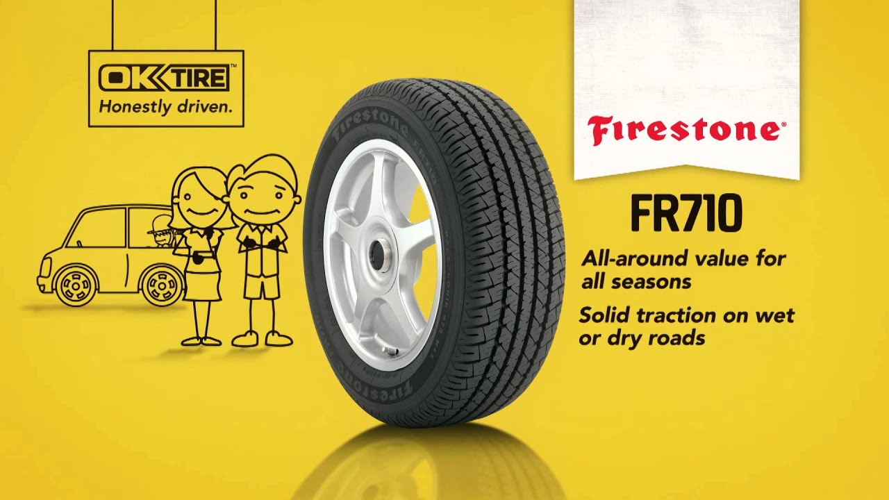 Firestone Fr710 Review >> Ok Tire Firestone Fr710 Youtube