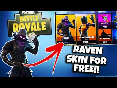 HOW TO GET NEW *RAVEN* SKIN FOR FREE!! - FORTNITE BATTLE ROYALE