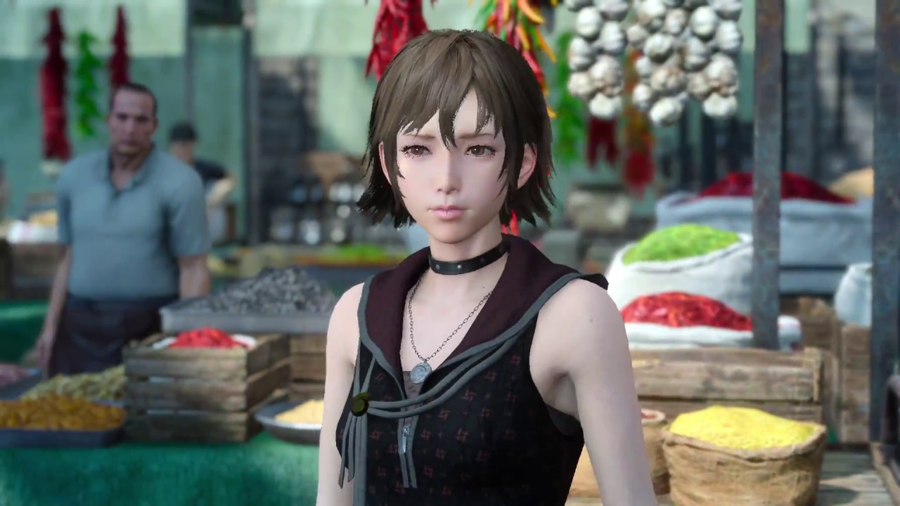 On a date with Iris | Final Fantasy XV Part 6 - YouTube