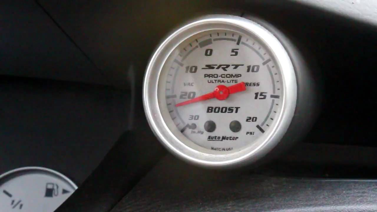 [WLLP_2054]   Srt Boost Gauge - YouTube | Caliber Boost Gauge |  | YouTube