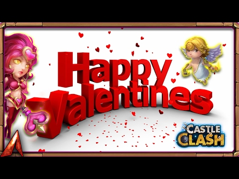 Valentines Day Deal! Rolling Gems! Castle Clash