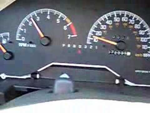 hqdefault re 2001 pontiac grand prix problem speedometer and hud youtube  at panicattacktreatment.co