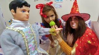 Pamuk prenses kostüm  ---- yılbaşı ağacı süsleyelim mi ?? Eğlenceli çocuk videosu
