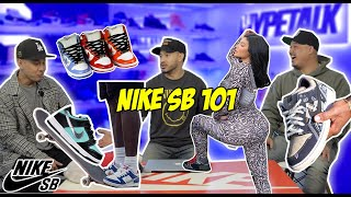 EVERYTHING THERE IS TO KNOW ABOUT NIKE SB's! (HISTORY, STYLING, PRICES, DUNK SB)