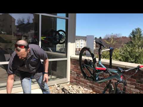 How to properly clean your new full suspension bike mountain bike