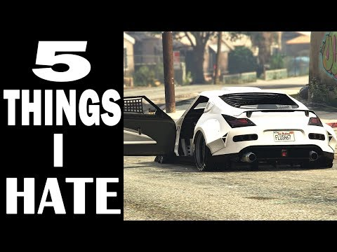 5 Things I Hate About GTA 5 Online As A CAR GUY