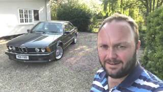 The BMW E24 6 Series is a beautiful modern classic