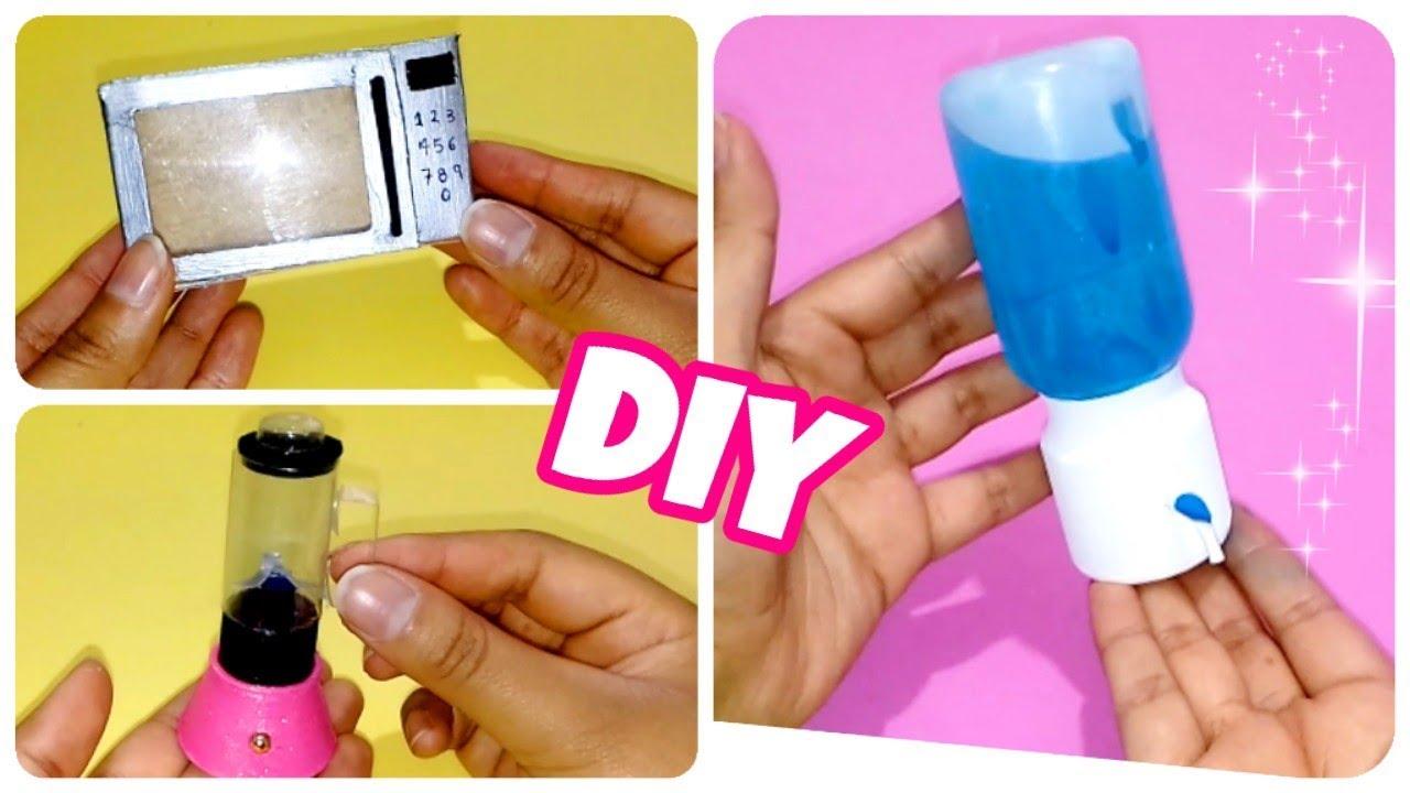 Como Hacer Cosas De Cocina En Miniatura How To Make