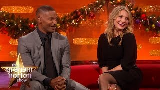 Cameron Diaz and Jamie Foxx Talk About Kids On Set - The Graham Norton Show