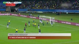Tin Thể Thao 24h Hôm Nay (7h - 19/10): Vòng 1/8 U17 World Cup, U17 Brazil Thắng Dễ U17 Honduras