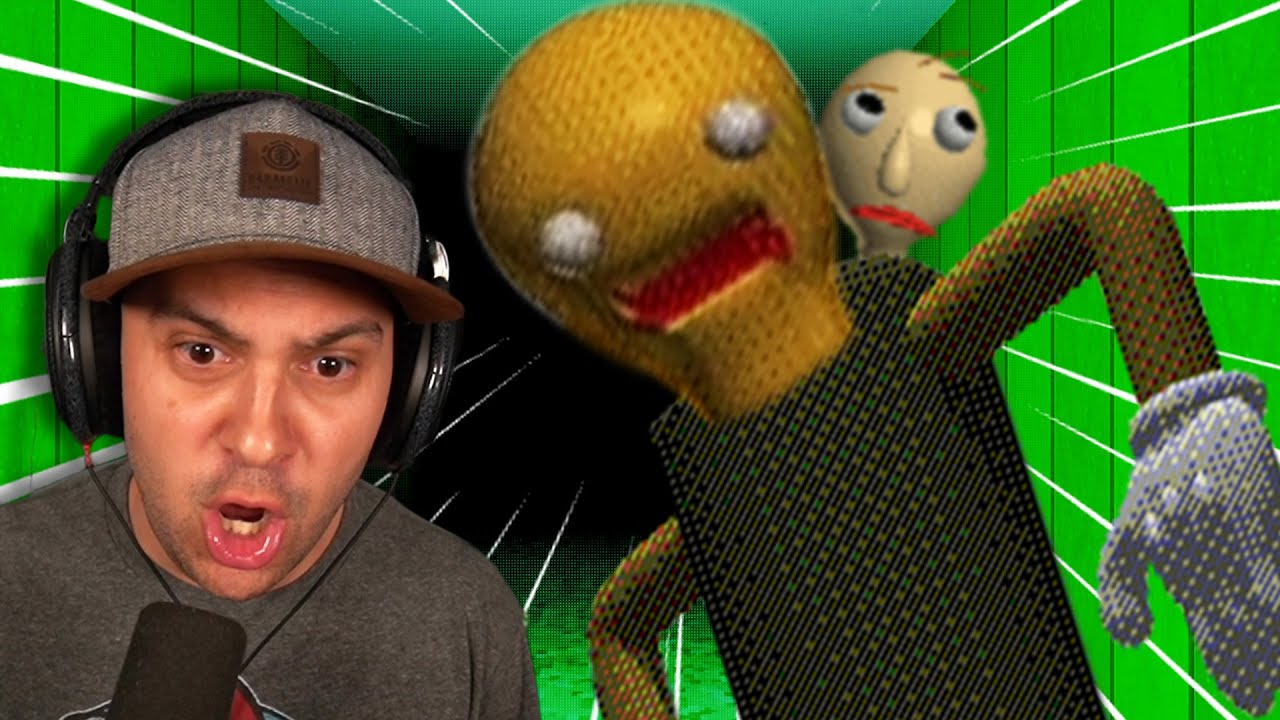 Baldi S Basics Plus Is Here And This New Guy Is So Creepy