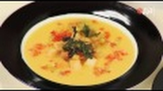 Подача (сервировка) сырного супа: 2 варианта от шеф-повара /  Илья Лазерсон / Обед безбрачия