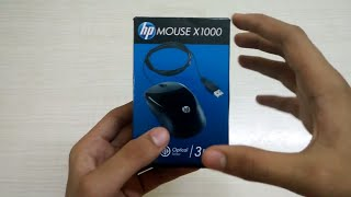 HP X1000 Wired Mouse (Black/Grey) - Review
