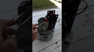 Mejorando la base de mi nuevo brazo robot - homemade robotic arms