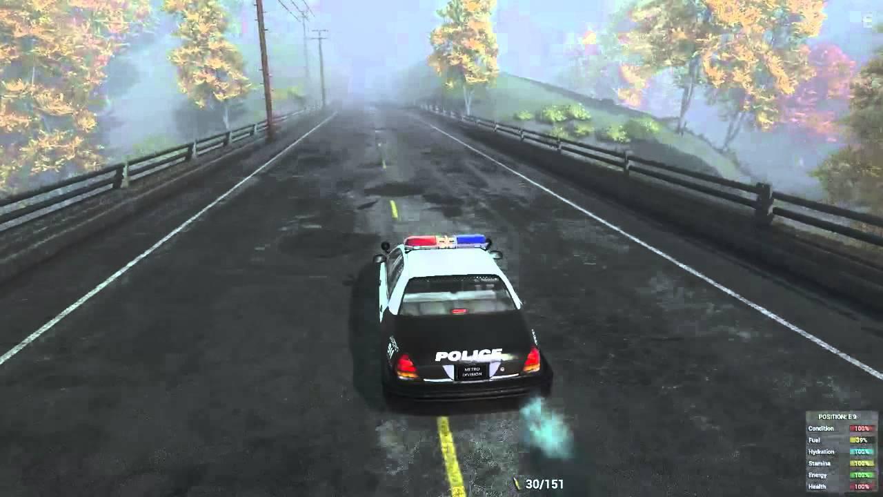 H1z1 Police Car