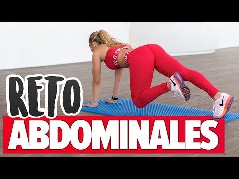 Rutina de 4 planchas para fortalecer abdomen, glúteos, lumbares y cadera